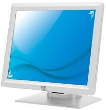 "Elo E236309 1517L 15"""" LCD ITouch Serial/USB Interface Desktop ZERO BEZEL Touch Monitor, SAW, White"