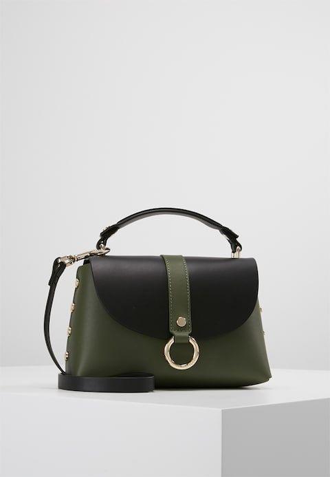 Tommy Hilfiger Hardware Crossover Handbag Green Zalando Co Uk