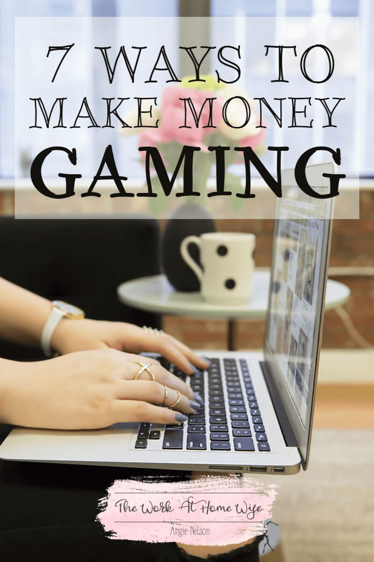 From making a little spending money to embarking on a full-time career, I've got 7 ways for you to make money gaming from home.