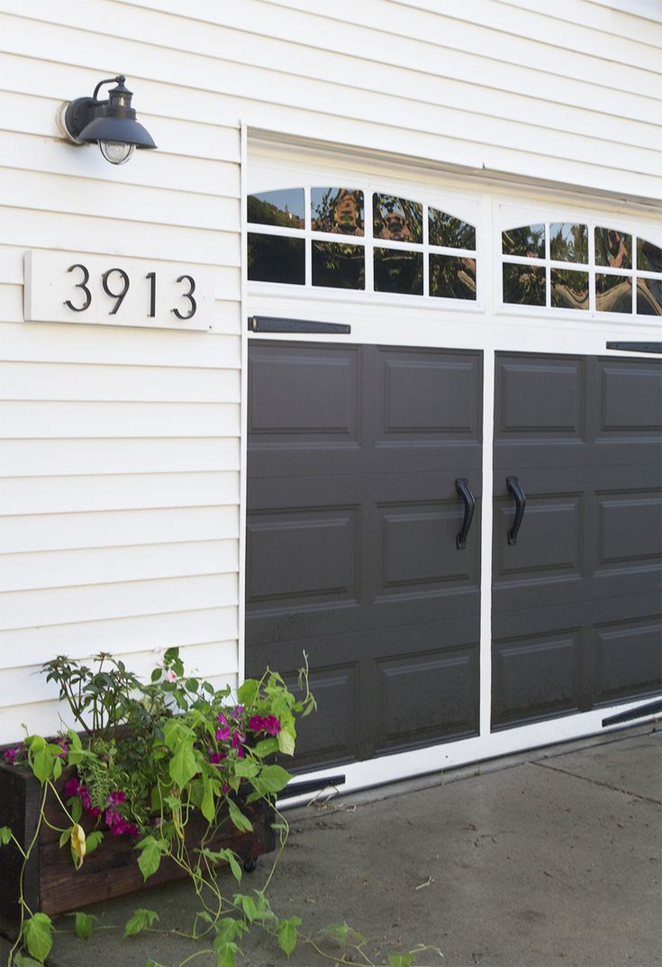 12 Best Garage Door Before After Images On Pinterest