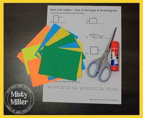 Sunday Stations Math & Riddle Sheets
