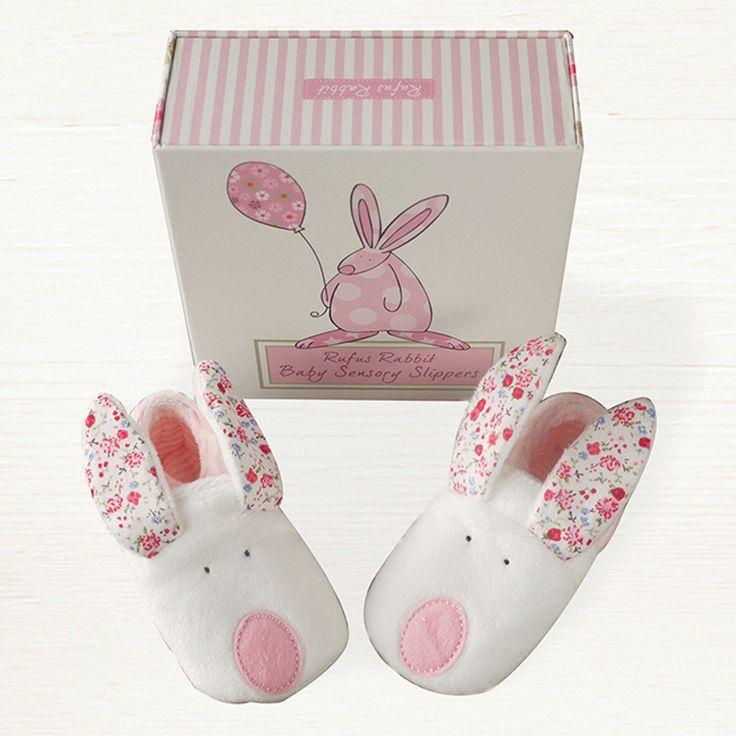 Rufus Rabbit Baby Girl Zapatillas 0-6meses cAXiRMx