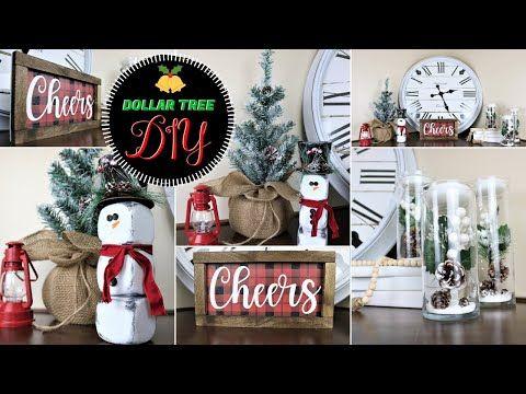 🎄 Dollar Tree Christmas DIYs **NEW!** 2020 🎄   YouTube in 2020