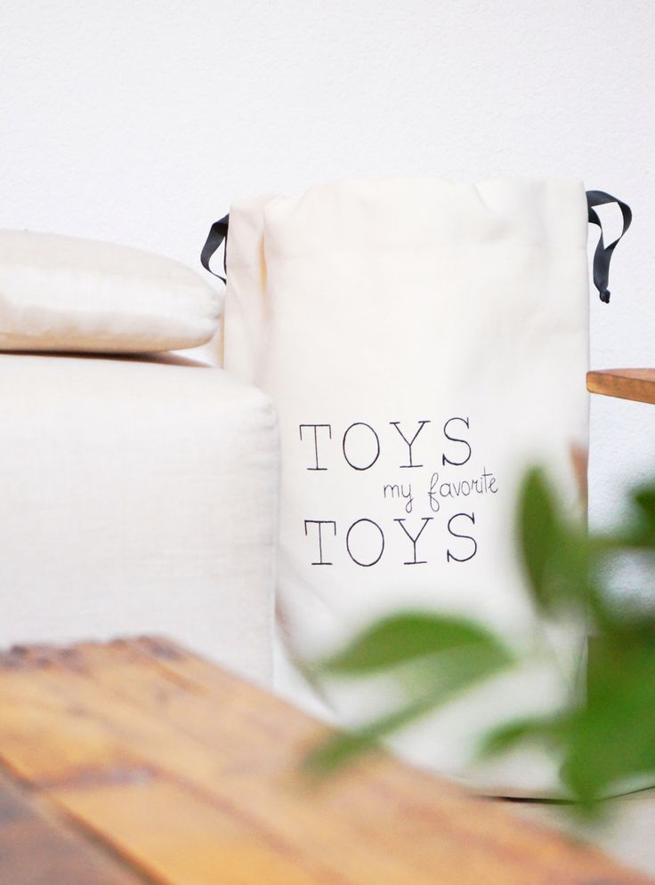 Large toy storage bag. Cotton canvas sturdy laundry hamper. Kids room. Nursery decor. Living room. Home decor. Etsy handmade. Modern Scandinavian interior design