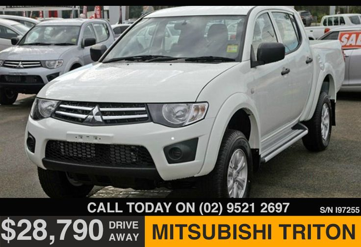 Online Special Offer - Mitsubishi Triton only $28,790 - http://tynanmotors.com.au/online-special-offer-mitsubishi-triton-only-28790/