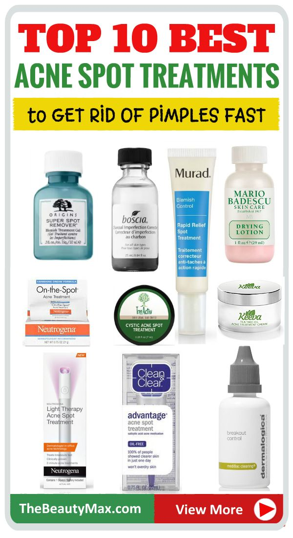Looking for The Best Acne Spot Treatment ? Here ar…