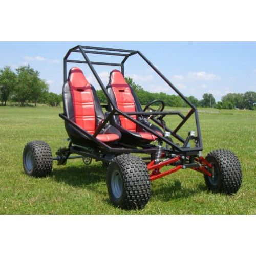 Go Kart Plans and Blueprints for SpiderCarts' Two Seat GrandDaddy Go Kart we can make it ourselves