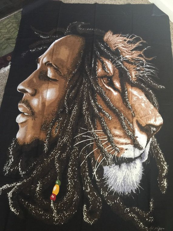 how to draw bob marley lion