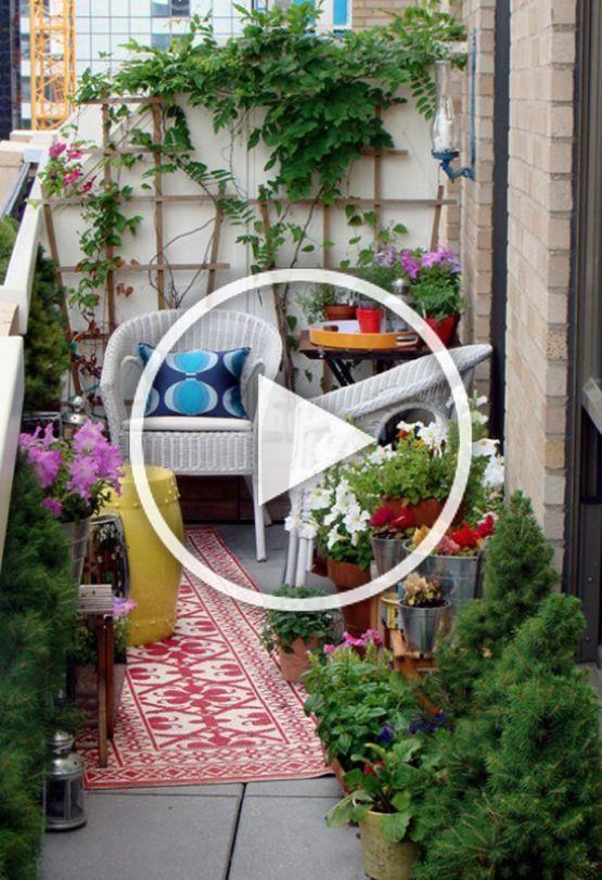 Post Inspiracion Para Decorar Terrazas Y Balcones Balcones Terrazas Diy Blog D In 2020 Halloween Front Porch Decor Garden Design Pictures Front Porch Decorating