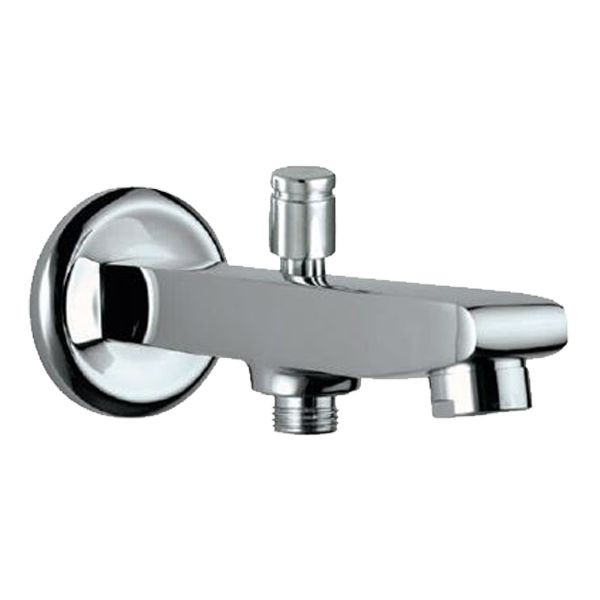 Buy Jaquar Opal SPJ-15463 Bath Tub Spout with Button Attachment for Hand Shower with Wall Flange in Taps through online at NirmanKart.com