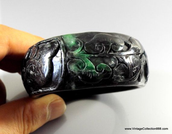 The Chinese Old Nature black wood Wooden Dragons Bracelet//1