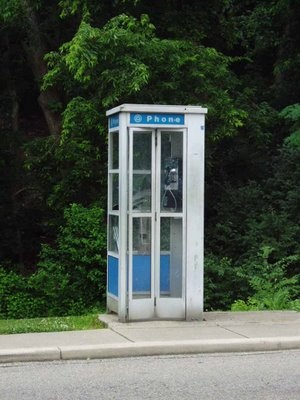 The good old days when you had to pull over to make that important phone call. :)
