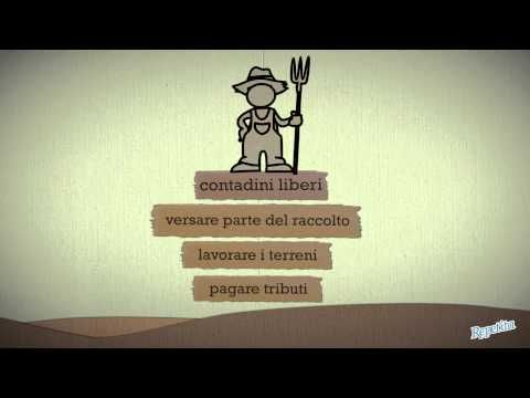Storia - L'economia curtense e la signoria rurale - Repetita - YouTube
