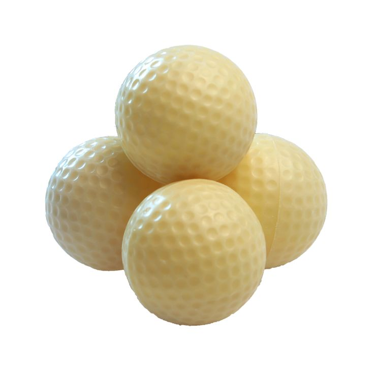 White chocolate golf balls for the golf-loving Dad