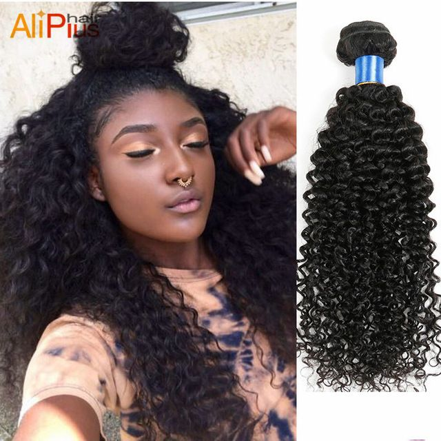 Online Shop 7A Mongolian kinky curly hair 3pcs/lot kinky curly virgin hair,cheap mongolian afro kinky curly human hair weave natural black|Aliexpress Mobile