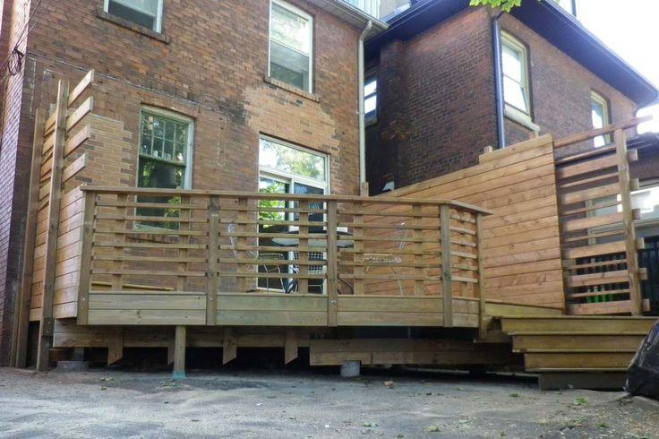 Backyard Deck at Winona Dr