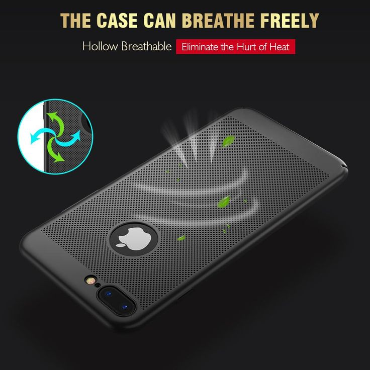 #HeatResistancePhoneCase  More than 2800 holes help dissipate heat of your phone to extend its  #batterylife. #Bigstartrading