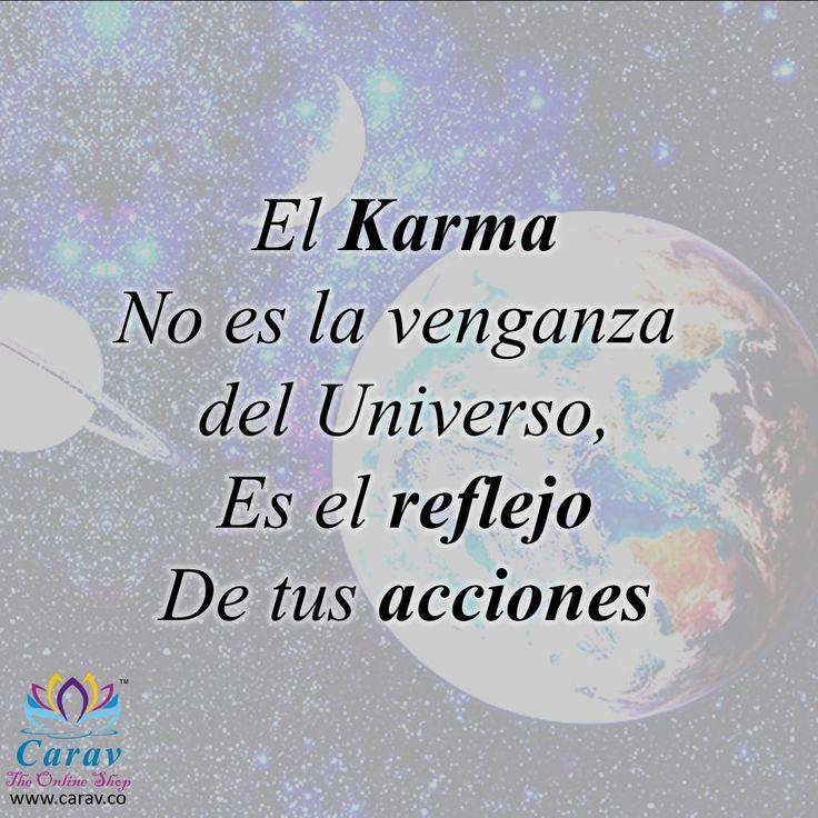 De acuerdo a como actuamos, así seremos recompensados! #Karma, #reflejo #acciones #FelizDia #FelizSabado #FelizFinDeSemana