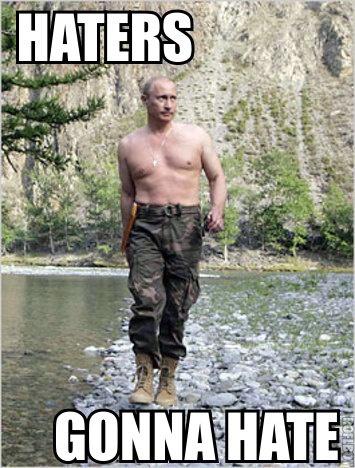Putin the moves on