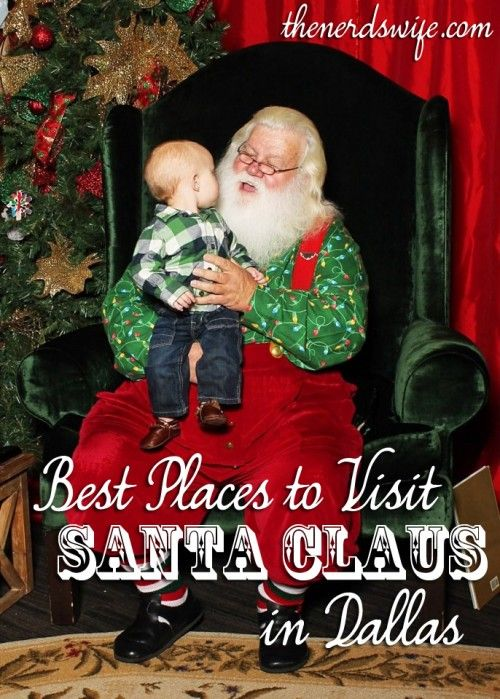 Best Places To Visit Santa For Photos In Dallas Visit Santa And - Best places to vacation at christmas time