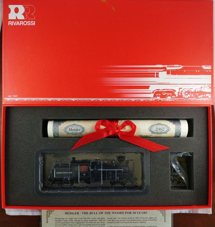 Rivarossi HO #R5462 2 Truck Heisler Georgia Pacific # 12 IOB
