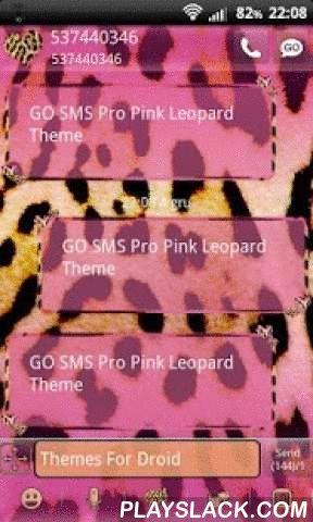 Pink Leopard Theme For GO SMS  Android App - playslack.com ,  Aanvraag voor SMS. Pink Panther in de spots. Hoe meer u kunt vertellen dat de roze panter huid. Een interessante combinatie van zoet en roze luipaard predatie. Berichten die zijn gemarkeerd met kleine zoete harten in de zwarte stip. In kleine kleine luipaard vlekken.SMS pop-up roze kleur op de rand heeft kleine harten. Doen denken aan kleine roze vlinders zijn gestopt voor een tijdje op zoek naar zoete roze nectar.Actieve verpakt…