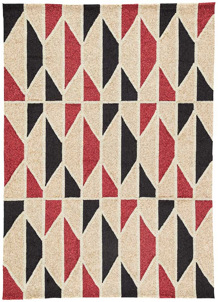 Harlequin Romance: patterns read chic whether indoors or out, thanks to Valencia from Jaipur Living's Catalina Collection. In shades of Mojave Desert and Rio Red, and available in multiple sizes, this rug is crafted in 100 percent polypropylene for a durable, looped pile look that's both easy to care for and to love.