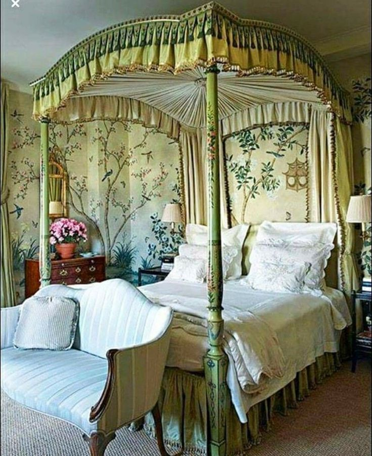 Love them or hate them canopy beds