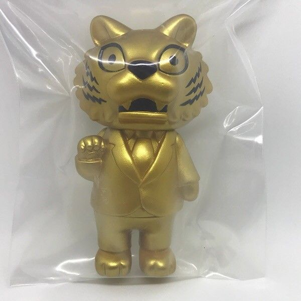 Max Toy Maxtoy TIGER BOSS GOLD Super Festival sofubi sofvi soft vinyl Japan ltd  #Maxtoy
