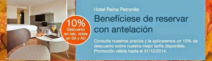 GASTRONOMÍA EN ZARAGOZA: Hotel Reina Petronila. PALAFOX HOTELES