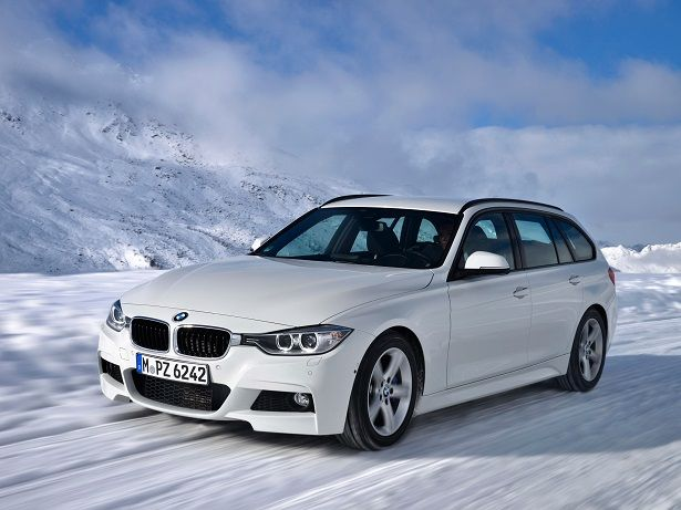 BMW 320d xDrive Touring M Sport Package (2013).