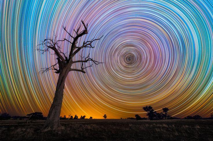 Amazing Long-Exposure Pics Of Star Trails
