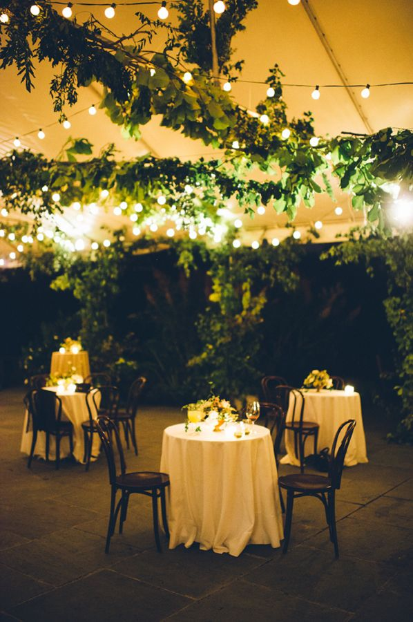 Wave Hill- Fashionable New York Garden Wedding