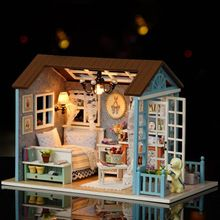 Diy Miniature Wooden Doll House Furniture Kits Toys Handmade Craft Miniature Model Kit DollHouse Toys Gift For Children Sale Price:  US $23.23