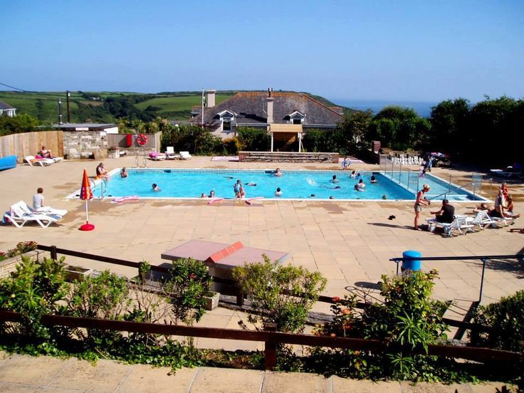 Seaview International, Boswinger, Gorran Haven, Cornwall, England. Beach. Sea. Surf. Camping. Travel. Explore. Outdoors. Holiday. Family Holiday.