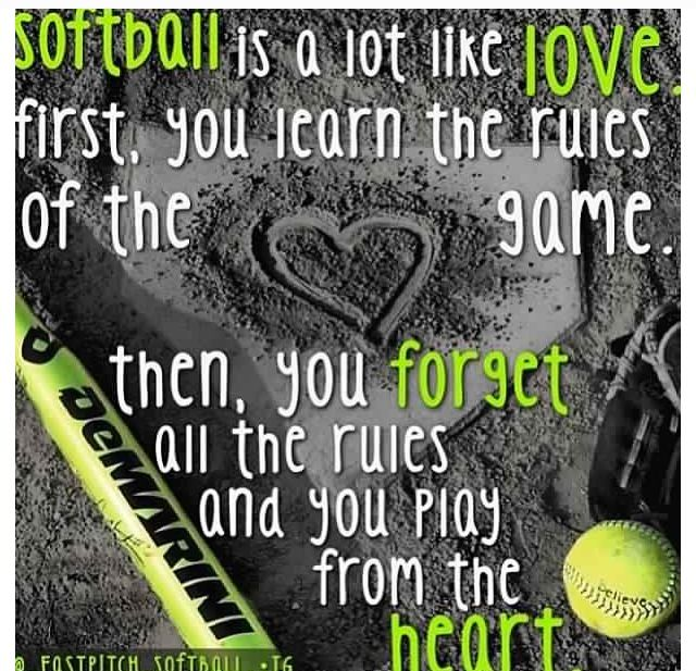 Softball is all bout dissin the rules   ...........click here to find out more     http://googydog.com