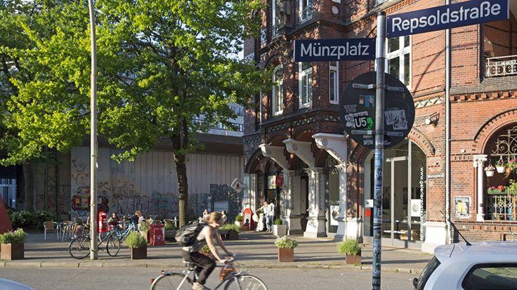 Ganz nah am Hauptbahnhof verbirgt sich ein Stück altes Hamburg: das Münzviertel. Sein zentrales Merkmal sind schöne Häuser und sehr viel Verkehr. Eine Fotostrecke