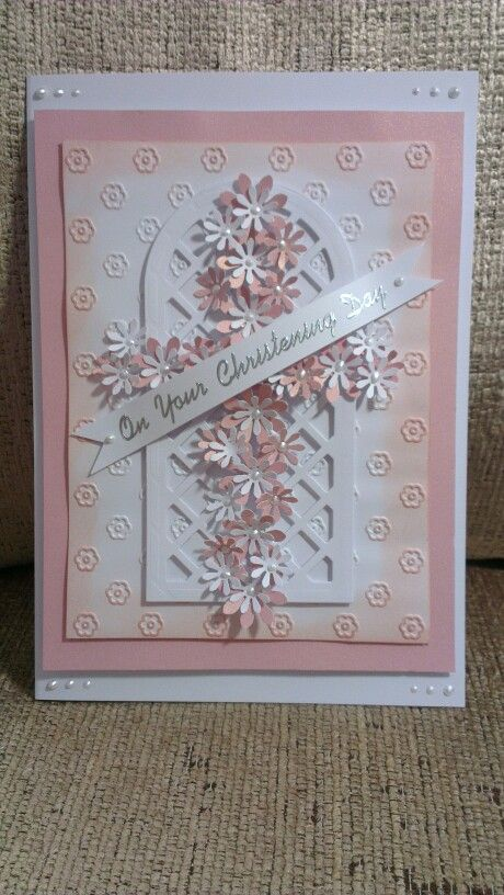 how to make a baptism card
