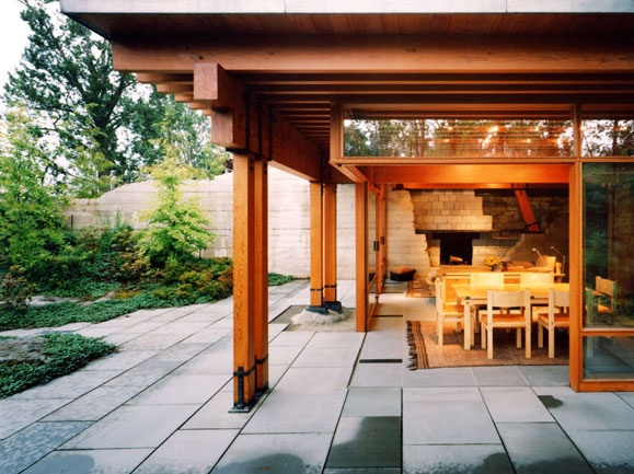 Guest House / Cutler Anderson Architects / Structure & Connection | Details  | Pinterest | Guest houses, Architects and Architecture