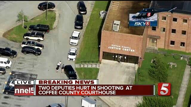 Officers down, Coffee County TN http://newschannel9.com/news/local/police-two-officers-down-in-coffee-county-courthouse-shooting