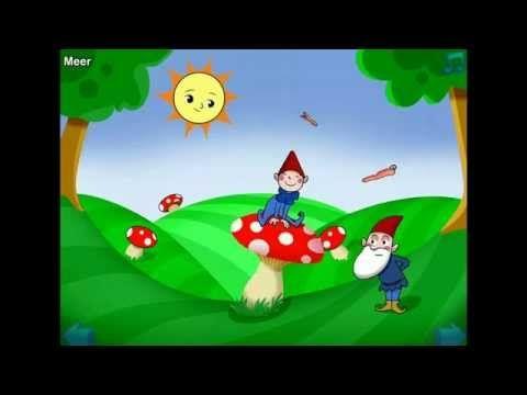 NEDERLANDSE KINDERLIEDJES - OP EEN GROTE PADDESTOEL - YouTube