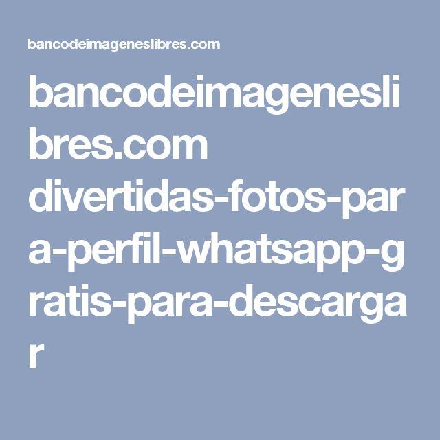 bancodeimageneslibres.com divertidas-fotos-para-perfil-whatsapp-gratis-para-descargar