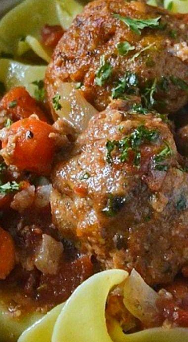 Crock-Pot Slow Cooker Autumn Meatball Stew
