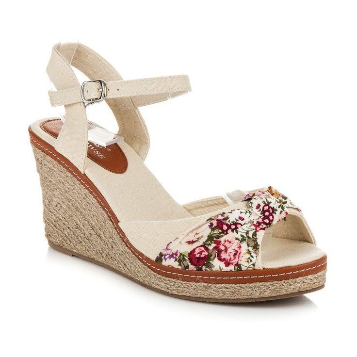 Klinové sandále CLOWSE 6L891BE