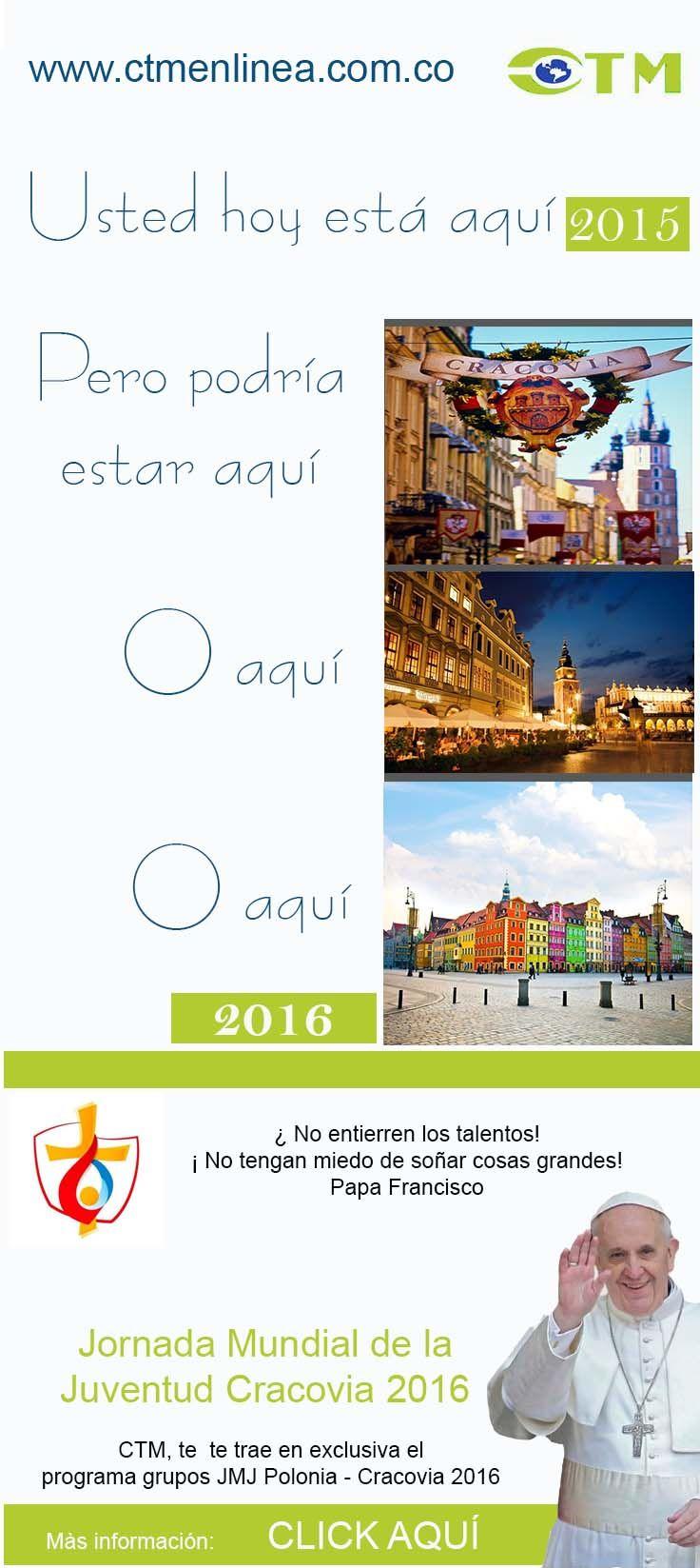 Campaña Jornada Mundial de la juventud Consolidators & Tourist Management