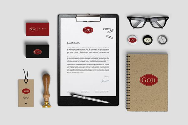 Goji on Behance http://logoby.com/v2/goji/