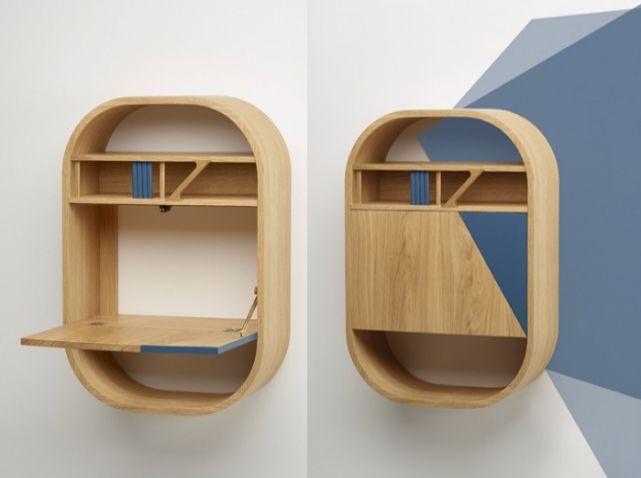 Secretaire design bois