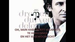 Marco Borsato - Niemand Weet (lyrics), via YouTube.