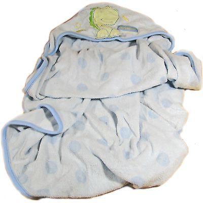 Carter's Hooded Dinosaur Light Blue Baby Towel.. USD 1.98