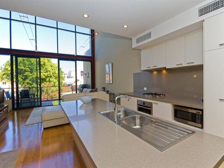 kitchens image: whites, island - 1177145 Nice colors